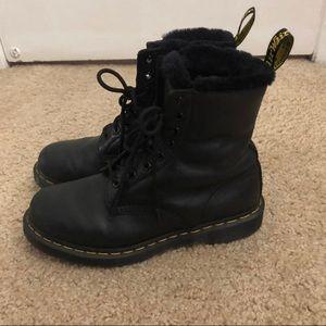 Dr martens fur lined boots